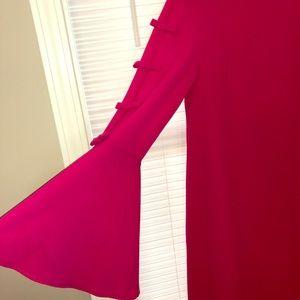 Cece hot pink dress